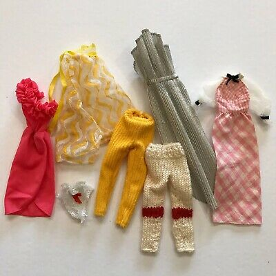 $ CDN19 • Buy Vintage Barbie Doll Clothes Fashion Clothing Mattel Vtg Lot Dresses Pants