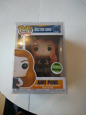 Dotor Who Amy Pond ECCC 2018 Spring Convention Exlusive POP Figure #600 • 16£