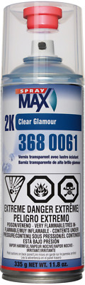 $ CDN32.99 • Buy Usc 3680061 2k Glamour Clear Gloss Clearcoat Spraymax (usc3680061)