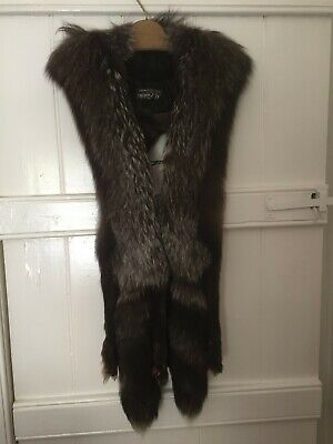 Vintage Fox Fur, Brown, Long Stole, 1960's, Well Cared For • 4.80£