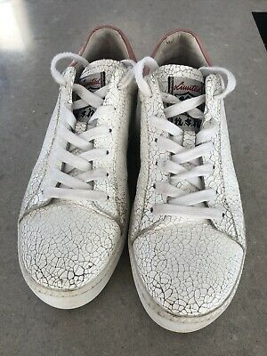 Gorgeous Ash Leather Trainers 39 • 5.50£
