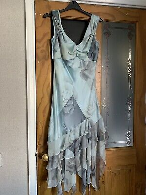 Chrystiano Stunning Dress And Jacket Size Uk 12  /party/cocktail /evening/ • 3£