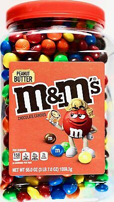$26.85 • Buy M&M'S Peanut Butter Chocolate Candy (55oz.)