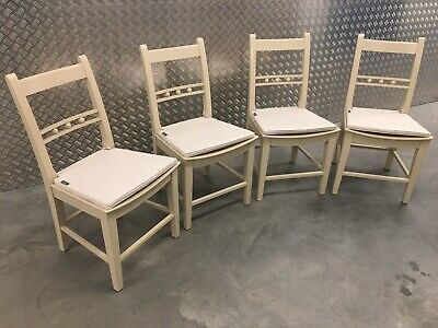4x Neptune Suffolk Kitchen Dining Room Chairs + Cushions RRP£1200 • 750£