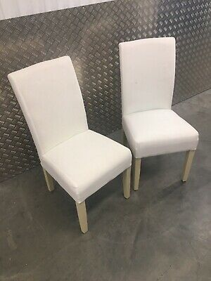 2x Neptune Long Island Kitchen Dining Room Chairs (No Covers) RRP£740 • 345£