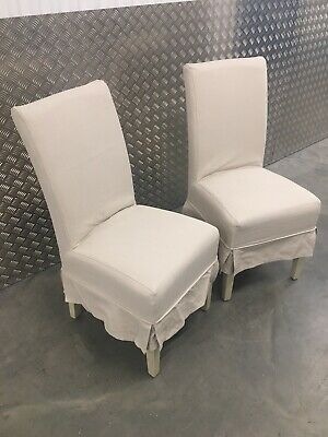 2x Neptune Long Island Kitchen Dining Room Chairs RRP£740 • 395£