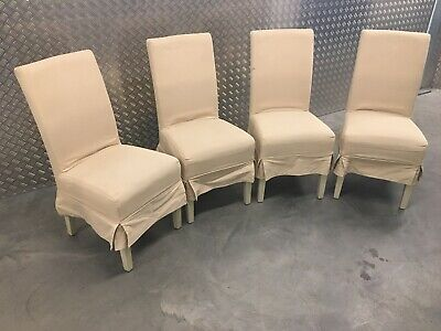 4x Neptune Long Island Kitchen Dining Room Chairs RRP£1480 • 645£