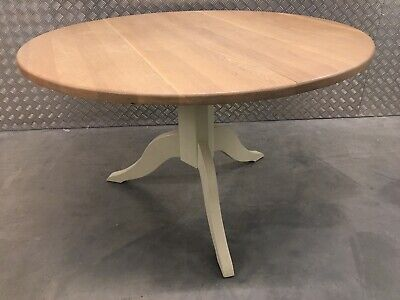 Neptune Chichester Solid Oak Top Round Kitchen Dining Room Table Sutton RRP£950 • 375£