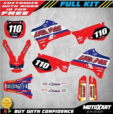 AU179.90 • Buy Custom Graphics, Full Kit For Yamaha YZ 125 1996 - 2001 ACTIVE STYLE Decal Kit