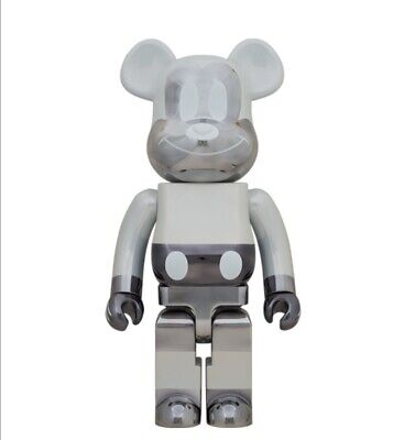 $8884.03 • Buy Be Rbrick Fragment Design Mickey Mouse Reverse Ver. 1000 Bearbrick Fragments