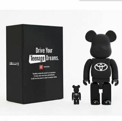 $386.06 • Buy Bearbrick Toyota Be Rbrick Drive Your Teenage Dreams. Matte Black Limited