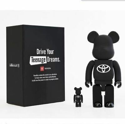 $386.08 • Buy Bearbrick Toyota Be Rbrick Drive Your Teenage Dreams. Matte Black Limited