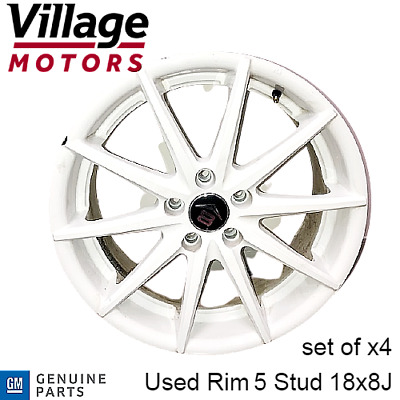 AU600 • Buy Genuine GM Holden 5 Stud USED Wheel Rim (Set Of X4 Only)Commodore ZB 2018 - 2020