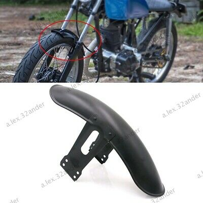Motorcycle Iron Front Sand Guard Fender Mudguard 38cm Black For Honda CG125 • 15.44£