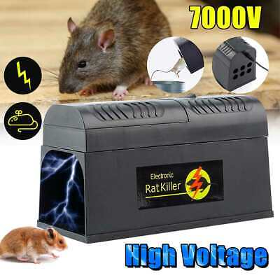 Reusable Electronic Mouse Rat Rodent Killer Electric Zapper Trap Pest Mice Uk • 22.89£