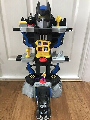 Imaginext Transforming Batman Bat Cave Playset 2 Figures And Car Included • 30£