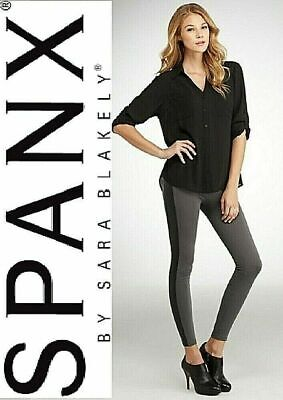 SPANX Assets Red Hot Label Structured Leggings Racing Stripe BNWT Grey 20-22 • 14.99£