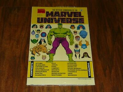 $5.99 • Buy OFFICIAL HANDBOOK OF THE MARVEL UNIVERSE #8 ~ Master Edition  Sealed  NM 1991