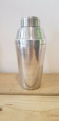 Rare Carl Deffner Art Deco Silver Plated Cocktail Shaker  • 72£