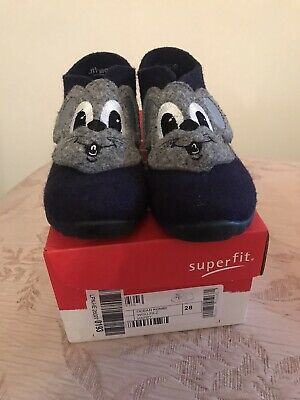 Superfit Boys Slippers, Size 10 (EUR 28) • 10£