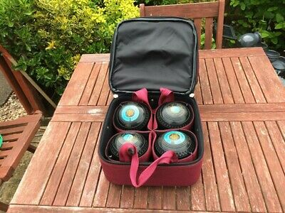 Almark Sterling Gold Bowls With Carrier And Bag Size 0 Heavy • 75£