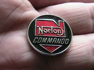 Norton Commando Motorcycle Biker Pin Badge Motorbike Owner Club Classic Bike • 1.50£