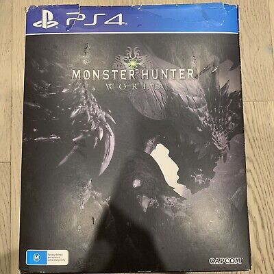 AU215.50 • Buy Monster Hunter World PS4 Collector's Edition