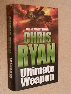 Chris Ryan SIGNED Ultimate Weapon 1st Edn UKHC  • 8.99£