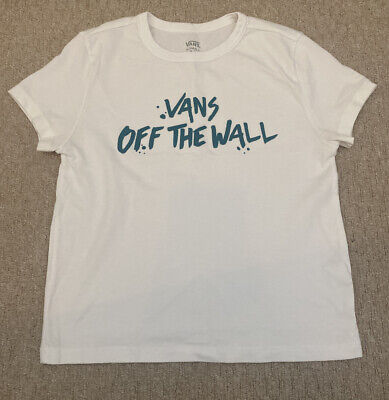 Unisex Vans Off The Wall White T Shirt Size UK XS Extra Small • 2.99£