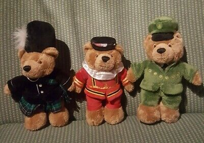 Harrods Teddy Bears X3 • 18£