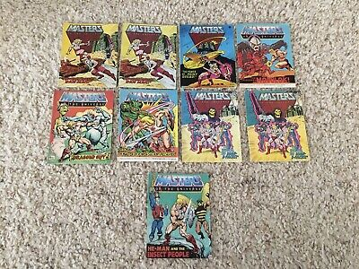 $20 • Buy He-Man Masters Of The Universe Mini-Comic Lot Of 9, MOTU Mini-Comics