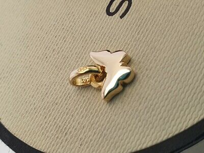 Genuine Links Of London Mini Butterfly Charm Yellow Gold Vermeil Silver • 29.99£