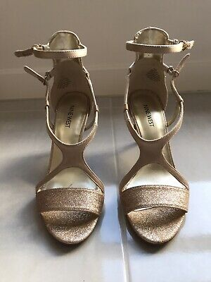 AU30 • Buy Nine West Gold High Heels Size 7