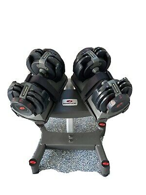 $ CDN666.70 • Buy Bowflex SelectTech 220 Adjustable Dumbbell Set And Stand