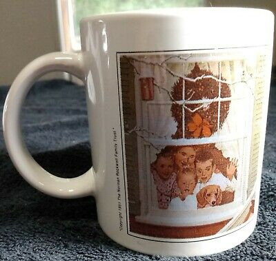 $ CDN23.71 • Buy Norman Rockwell Coffee Mug  Copyright 1951 Norman Rockwell Family Trust  *Great*