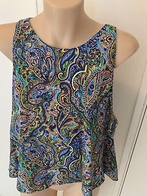 AU25 • Buy ZARA Colourful Singlet Size L New W Tag