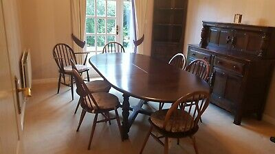 Ercol Extending Dining Table And Chairs • 299£