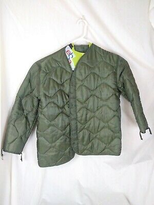 $24.99 • Buy US Army Military M65 Field Jacket Quilted OD Green Coat Liner M-65 XL E2
