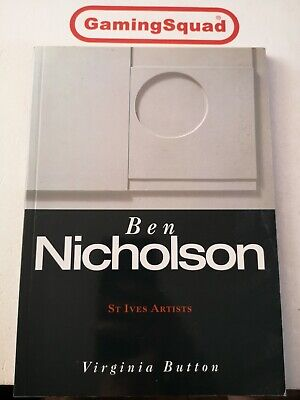 £7.95 • Buy Ben Nicholson St Ives Artists, V Button PB Book, Supplied By Gaming Squad