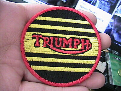 Triumph Motorcycle Biker Patch Badge British Classic Owners Club Motorbike • 1.50£