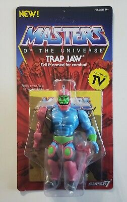$15.50 • Buy Super 7 Masters Of The Universe He-man Motu Trap Jaw