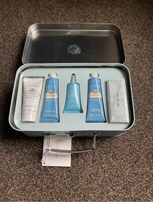 Crabtree & Evelyn La Source Pedicure Gift Set In A Tin Case New • 34.99£