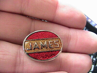 James Motorcycle Biker Pin Badge Motorbike Owner Club Classic Bike • 1.90£