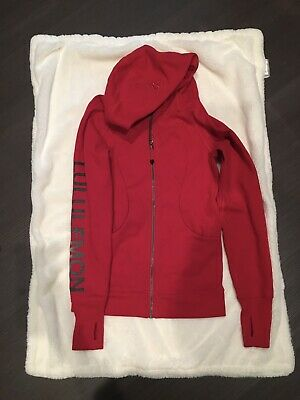 $ CDN65.91 • Buy NWT Lululemon Limited Edition 20Y Collection Scuba Hoodie Dark Red Size 4