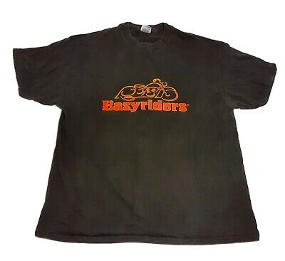 $24.95 • Buy EASY RIDER T-Shirt 2XL Black Motorcycle The Motion Picture Hanes Mens