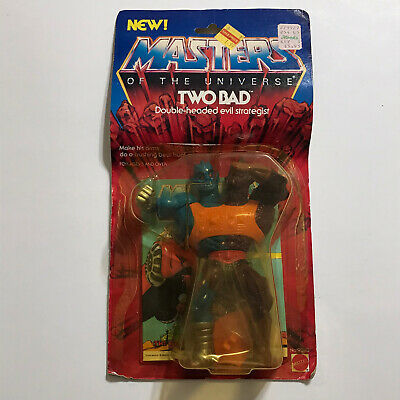 $149.99 • Buy Vintage 1984 Two Bad He Man Masters Of The Universe Moc Mattel New Sealed Motu