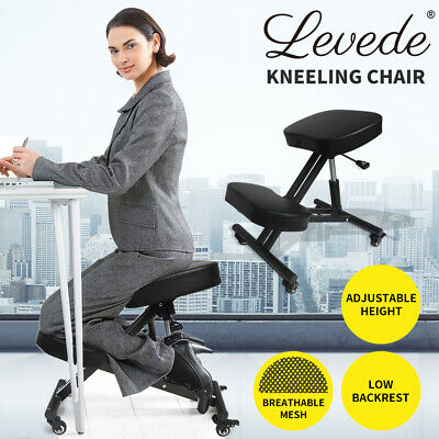 AU99.99 • Buy Ergonomic Kneeling Chair Adjustable Computer Chair Home Office Work Furniture