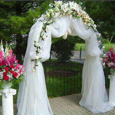$18.86 • Buy Decorative METAL Wedding ARCH 90  X 55  Party Wedding Decorations Cheap SALE