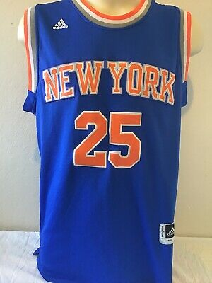 AU9.99 • Buy New York Knicks  Basketball Jersey NBA Derrick Rose Adidas Size M