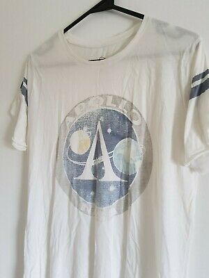AU17 • Buy Pull And Bear Loose Tshirt NASA Graphic | Size Eur S